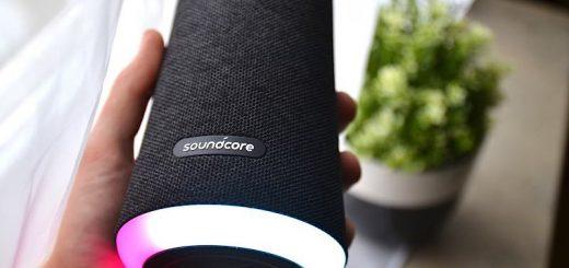 SoundCore Flare liegt gut in der Hand 520x245