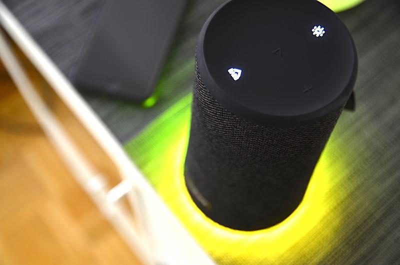 Stimmungsvolle Lichter Show SoundCore Flare Plus