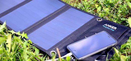 anker powerport solar smartphone laden 520x245