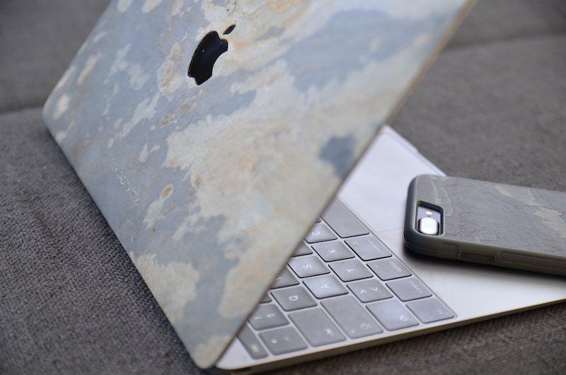 ecoskin stone macbook iphone
