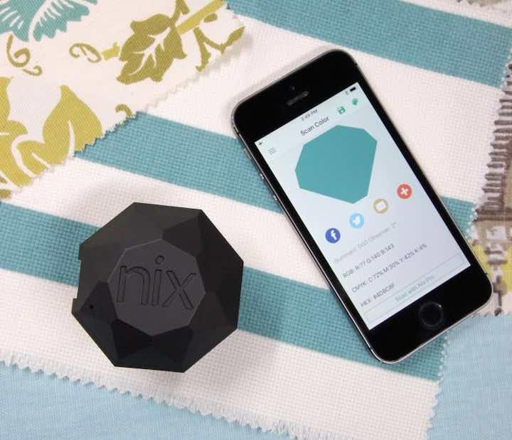 farbsensor mit app smartphone
