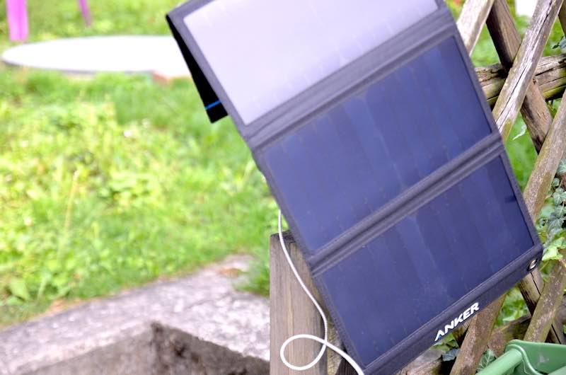maximale sonneneinstrahlung ausrichten des powerport solar