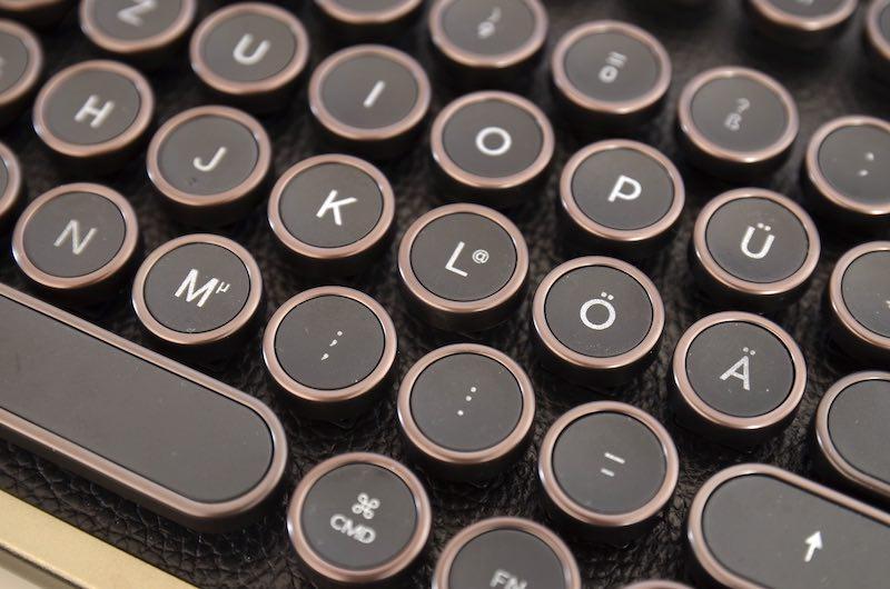runde tastatur tasten