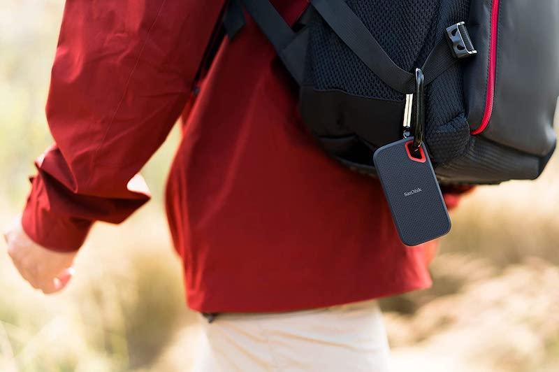 sandisk exreme portable ssd outdoor unterwegs min