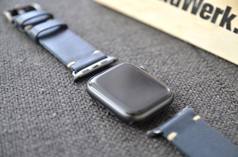schickes bandwerk armband navy blue