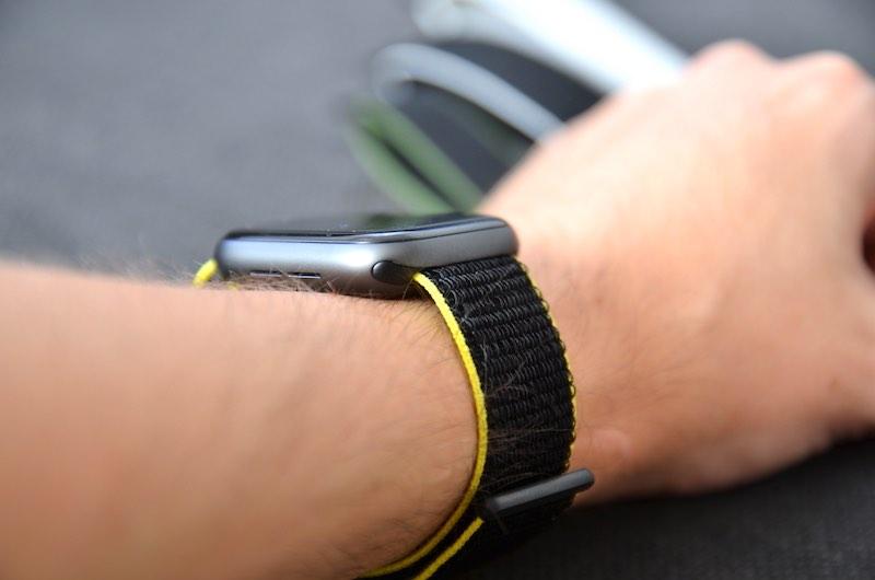 watchpop nylon armband apple watch