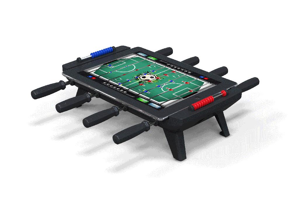 4 NewPotato Table Foosball with iPad white web1