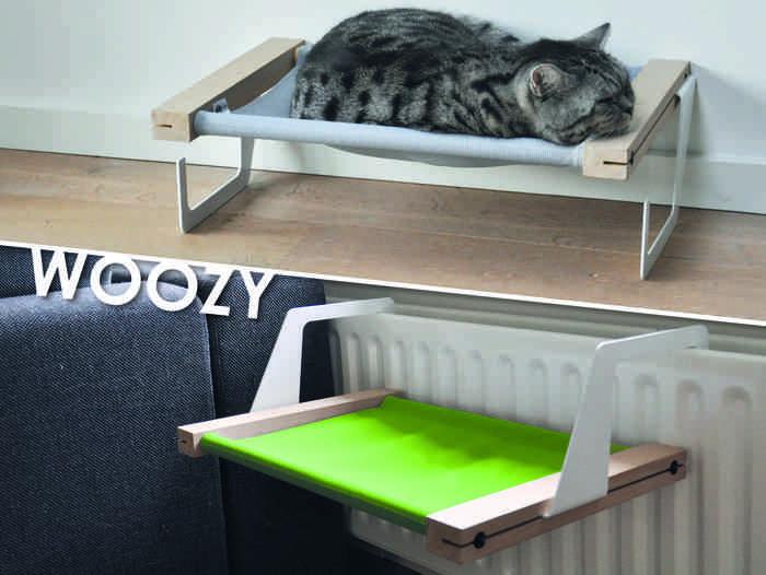 woozy die h ngematte f r entspannte katzen. Black Bedroom Furniture Sets. Home Design Ideas
