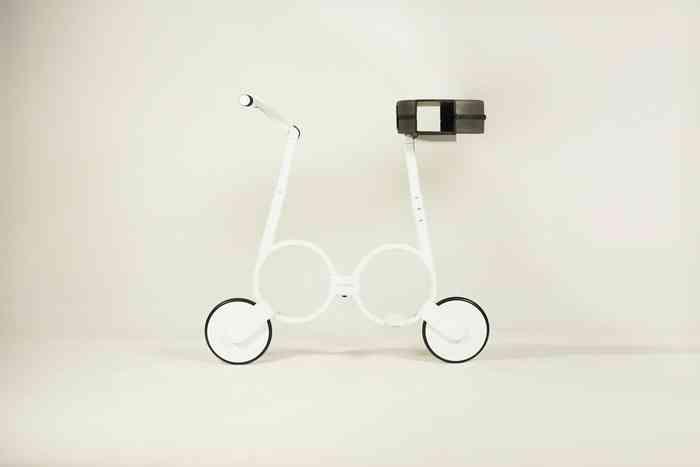 Imbossible E-Bike Elektrofahrrad kleinste Fahrrad Mini Fahrrad Welt