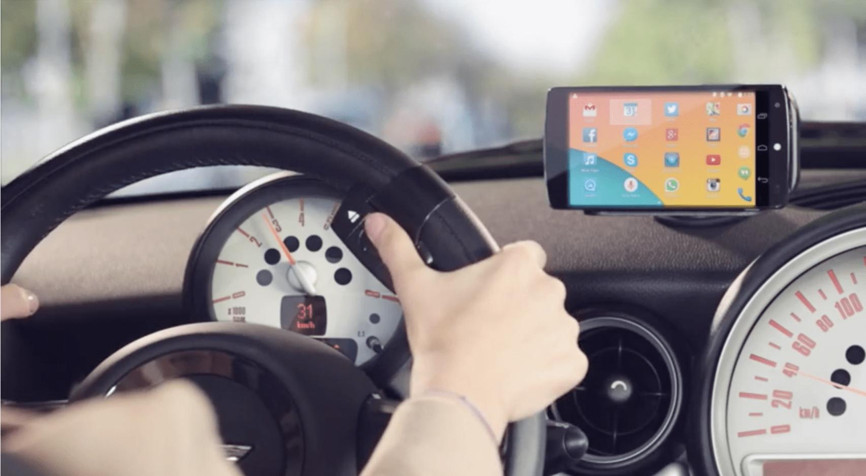 app your car f r die smartphone nutzung im auto gadget. Black Bedroom Furniture Sets. Home Design Ideas