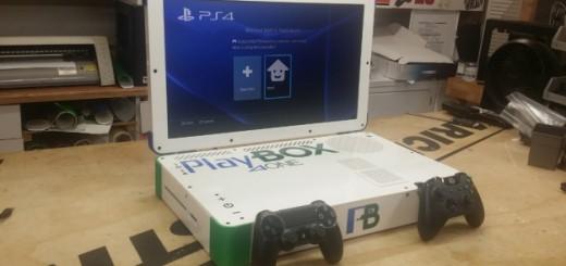 playbox playstation box one laptop