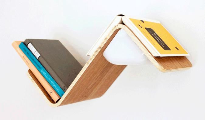 lililite besonderes regal f r gadget fans und leseratten. Black Bedroom Furniture Sets. Home Design Ideas