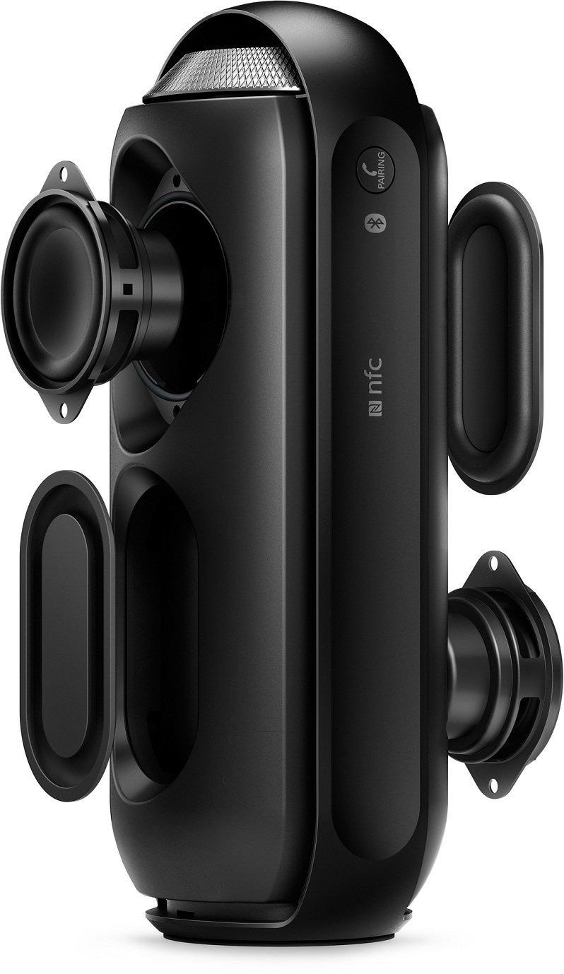 philips bt6000 leistungsstarker 360 grad bluetooth speaker gadget rausch. Black Bedroom Furniture Sets. Home Design Ideas