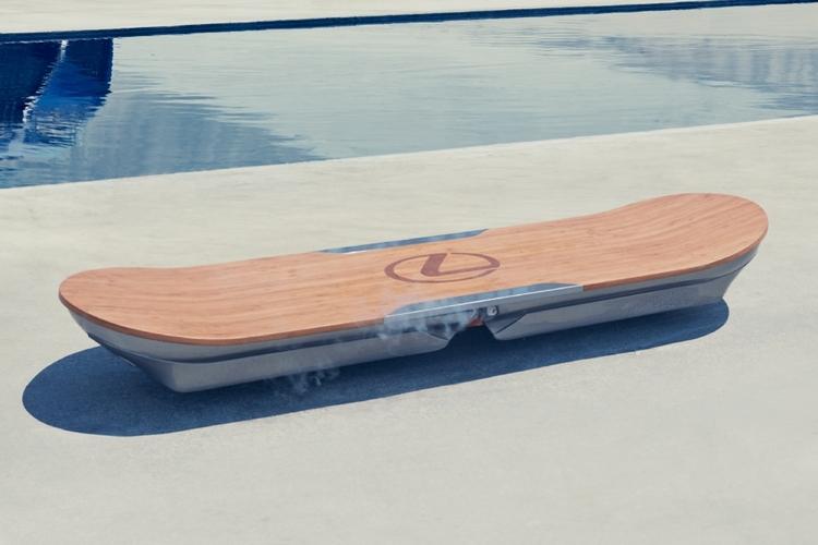 lexus hoverboard was verbirgt sich hinter dem schwebenden. Black Bedroom Furniture Sets. Home Design Ideas