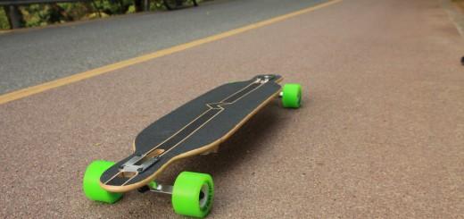 faltbares longboard snap
