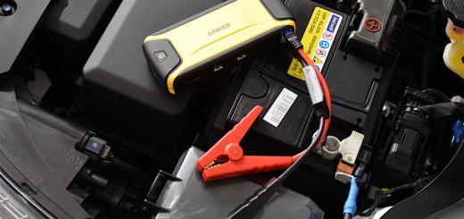 mobile starthilfe auto im einsatz