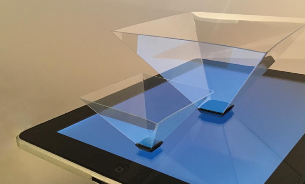 3д пирамида для планшета