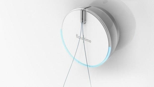 automatischer zahnseiden automat