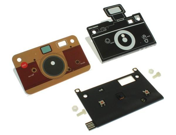 kamera aus papier