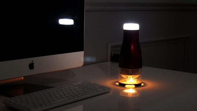 led leuchte mit teelicht
