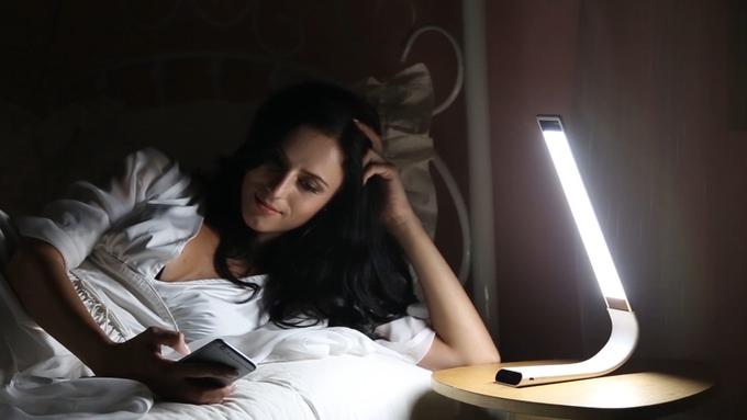 lumiére lampe kickstarter