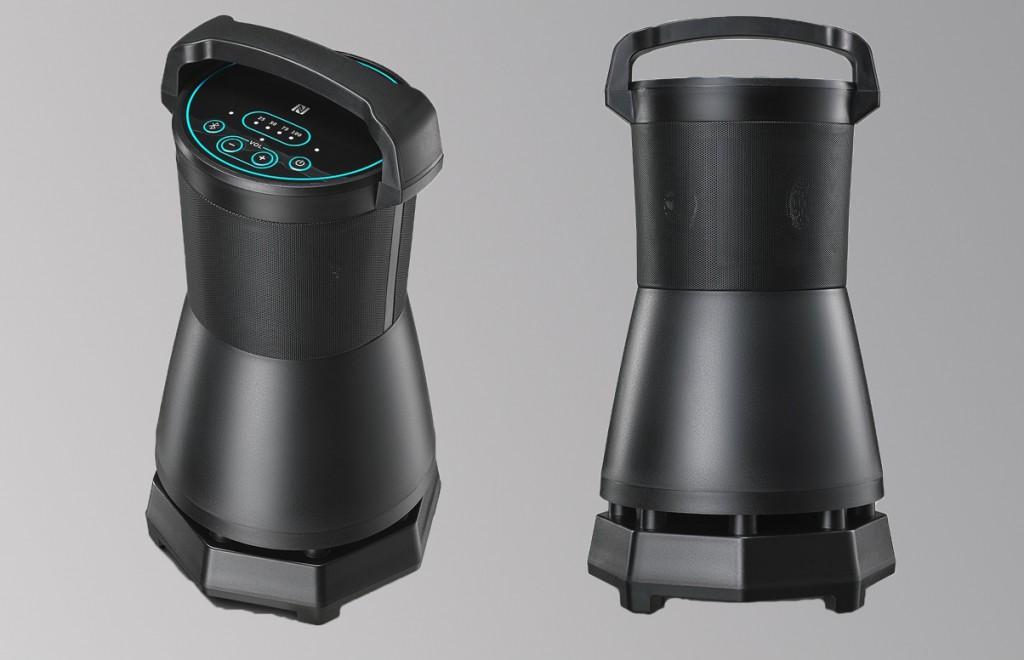 outdoor 360 lautsprecher gigant mit 60 watt leistung. Black Bedroom Furniture Sets. Home Design Ideas