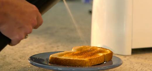 sprühdose butter frühstück
