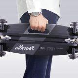 longboard mit acht rollen
