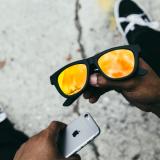 brille mit musik knochenleitung