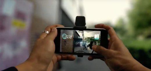 gadget smartphone shooting