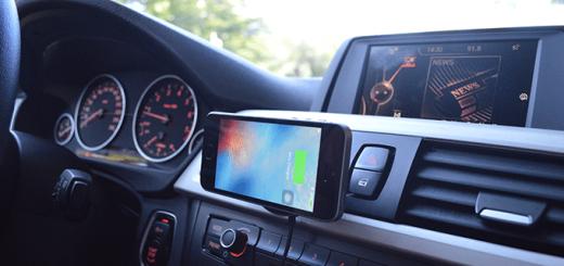 auto smartphone laden