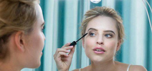 my beauty light im einsatz am spiegel