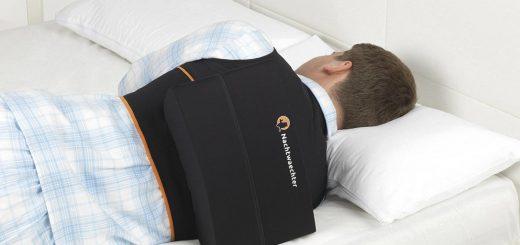 schlafweste im einsatz