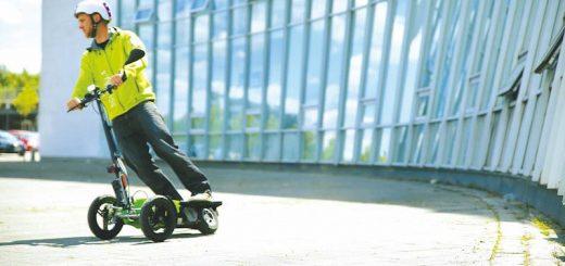 scuddy roller elektrisch fahren