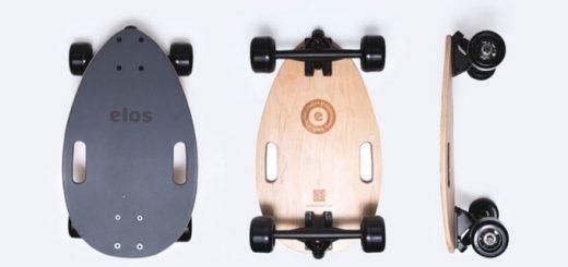 elos skateboard longboard