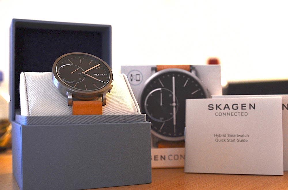 hybrid smartwatch im test verpackung