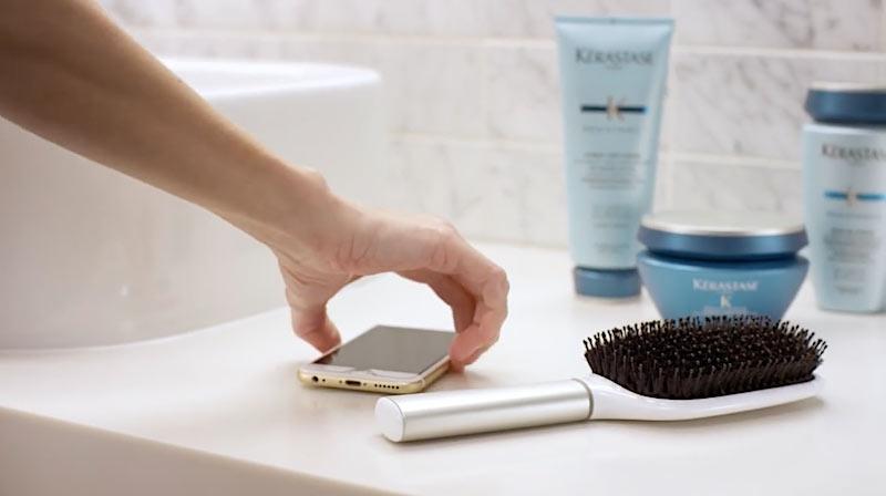 smarte haarbürste
