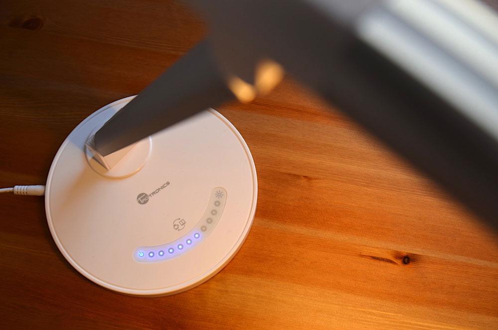 erleuchtung taotronics led schreibtischlampe im test. Black Bedroom Furniture Sets. Home Design Ideas