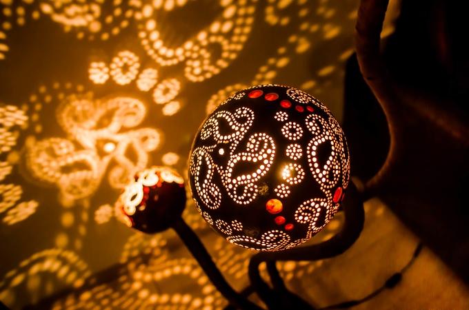 Moderne Lampen 14 : Nymphs lamp: moderne lampen für lichtshow im zimmer