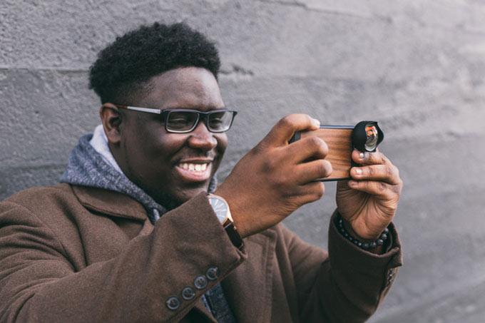 smartphone gadget aufsteck linse