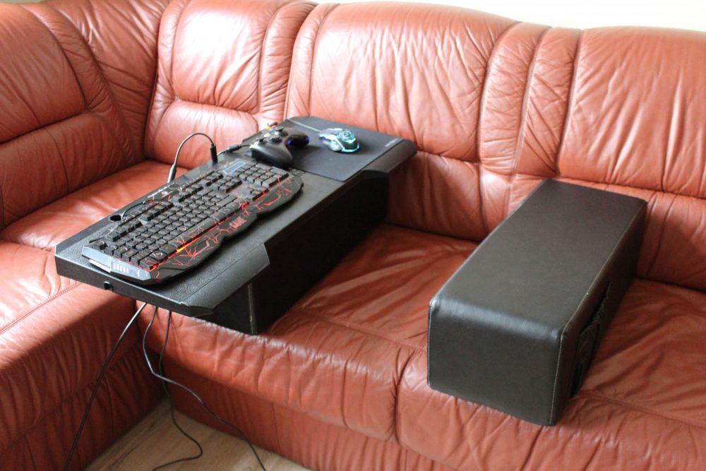 couchmaster cycon im test pc gaming von der couch aus. Black Bedroom Furniture Sets. Home Design Ideas