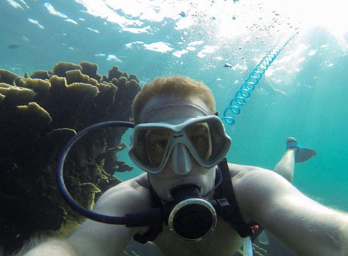 airbuddy unterwasser