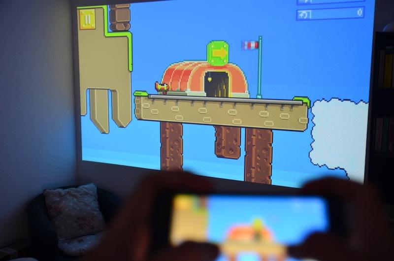 p6 mini beamer im test ultra kompakter multimedia projektor gadget rausch. Black Bedroom Furniture Sets. Home Design Ideas