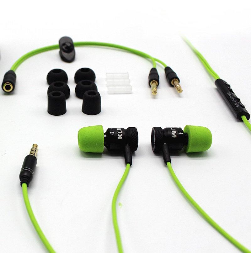 klim fusion g nstige in ear kopfh rer mit memory foam. Black Bedroom Furniture Sets. Home Design Ideas