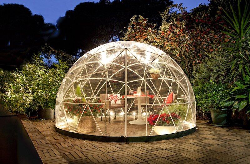 Mobiler Wintergarten garden igloo kugelrunder wintergarten für jedermann