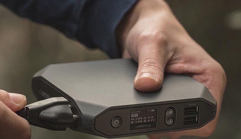 Omnicharge Tragbare Ac Dc Powerbank Für Laptop Und Mehr