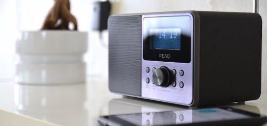 PEAQ PDR160BT mit bluetooth smartphone 520x245