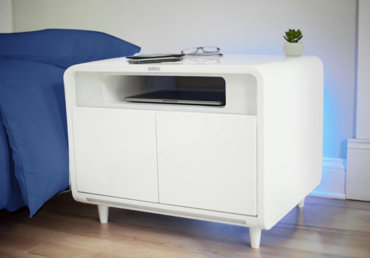 Mini Kühlschrank Nachttisch : Sobro smart side table nun wird auch der nachttisch smart