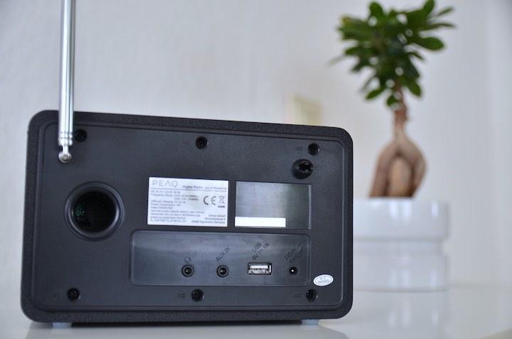 dab radio peaq