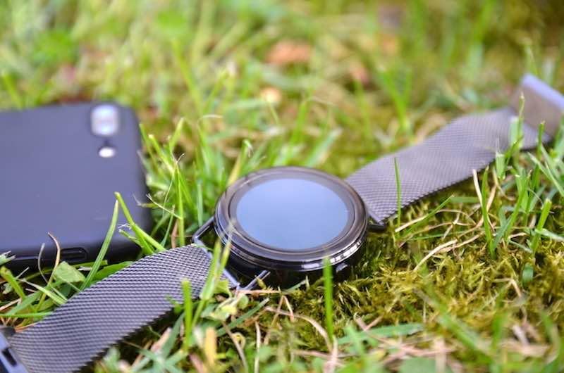 Schickes Design der Skagen Smartwatch